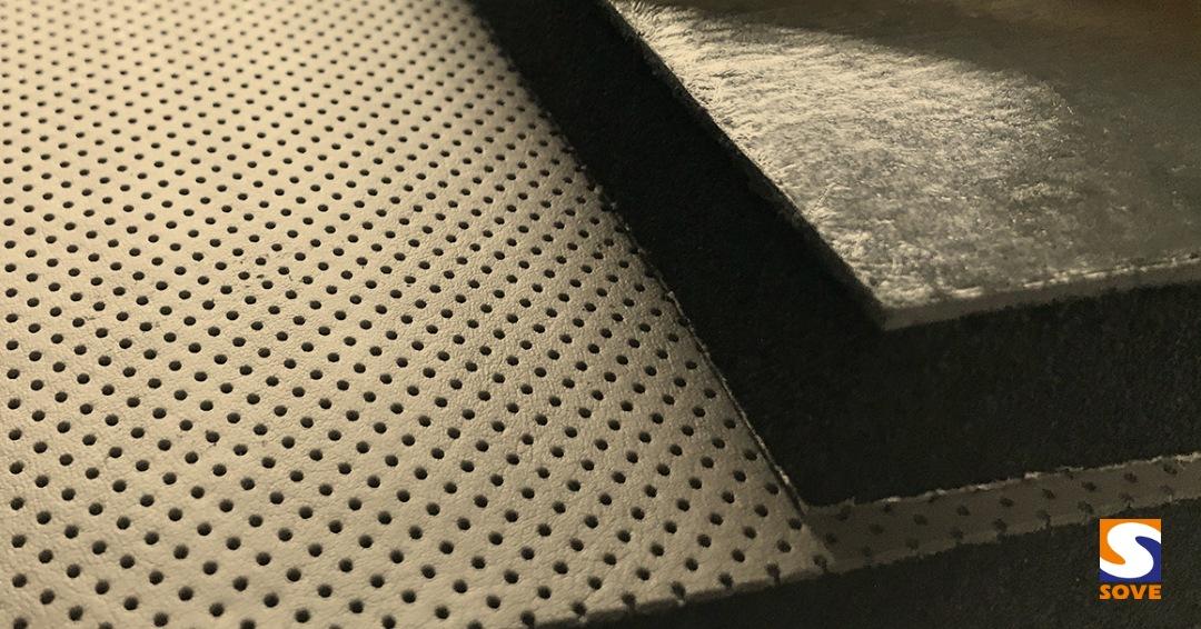SOVE – Materiais aplicados à Indústria dos transportes.Placas Isolamento Acústico e Térmico Autoadesivas.