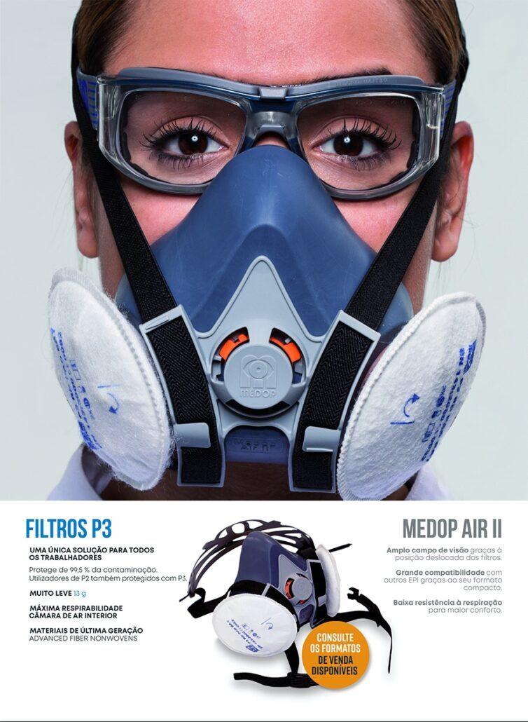 MÁSCARA DE PROTEÇÃO MEDOP AIR II